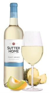 Sutter Home Pinot Grigio 187ml - Case of 24